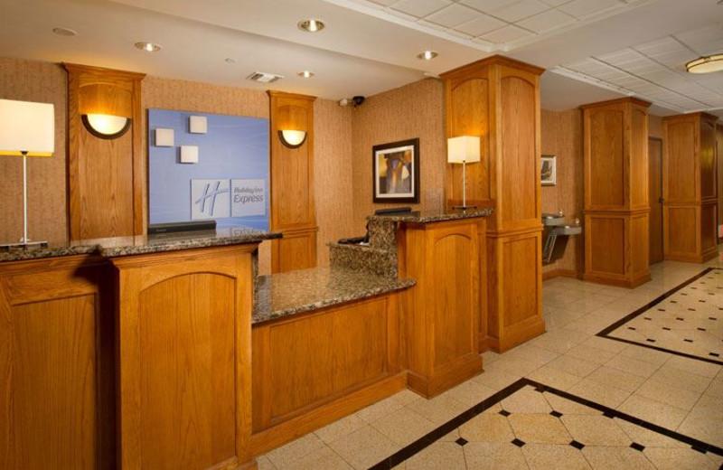 Front Desk at Holiday Inn Express San Antonio N-Riverwalk Area