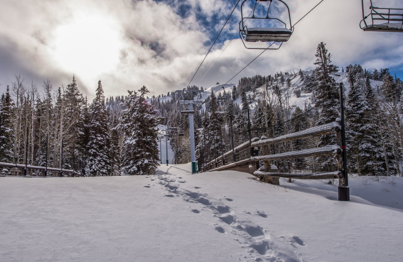 Ski in and out at Park City Rental Properties.