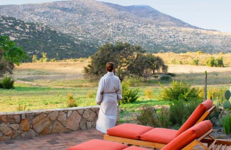 Mountain view at Rancho La Puerta.