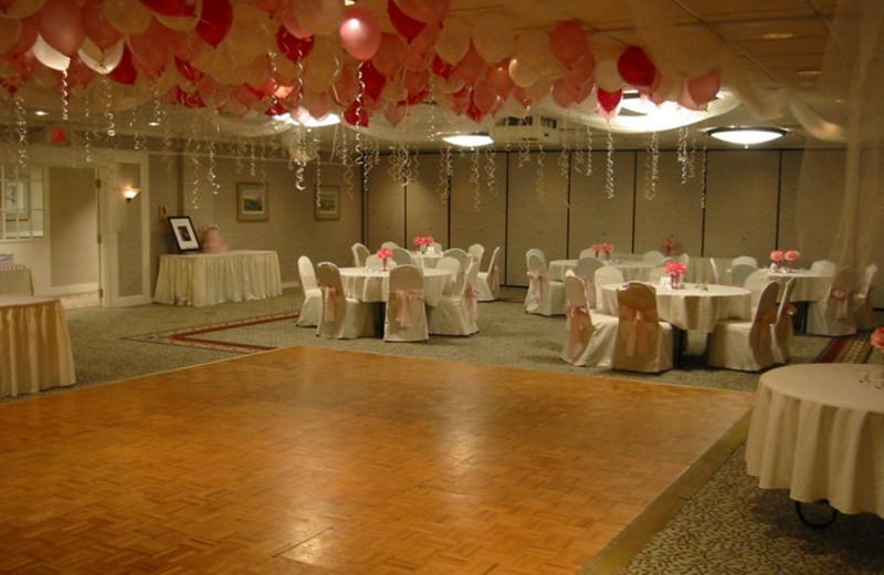Dance floor at The Margate on Winnipesaukee.