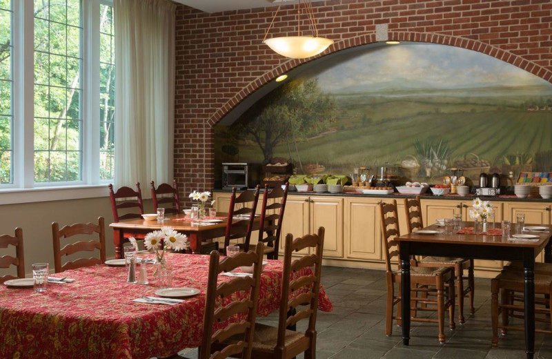 Dining at Lake Opechee Inn and Spa.