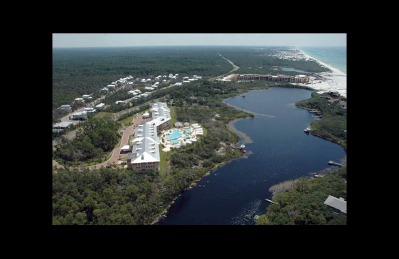 Aerial view of Beach Vacation, LLC.