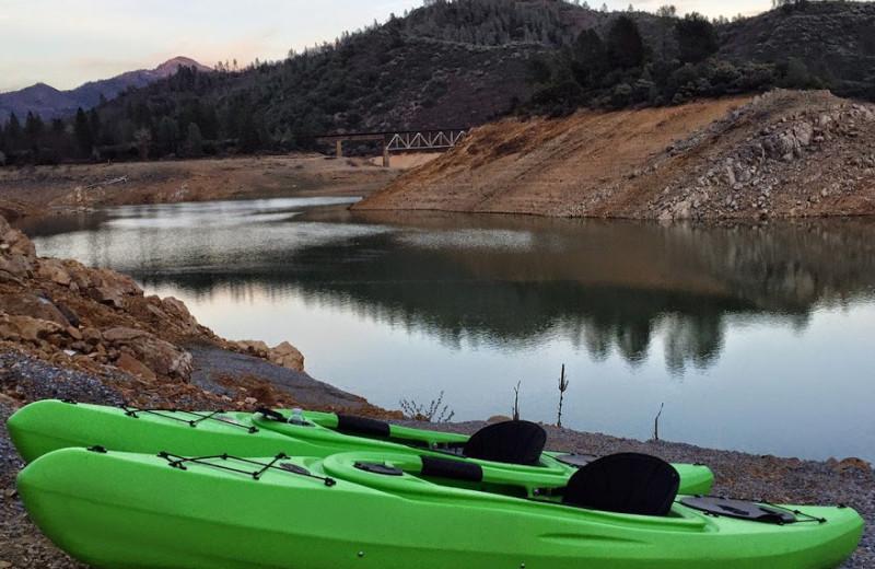Kayaking at Tsasdi Resort.