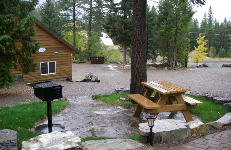 Picnic Area at Timber Wolf Resort