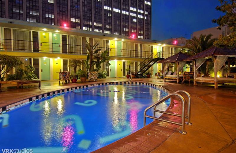 Outdoor pool at Phoenix Hotel.