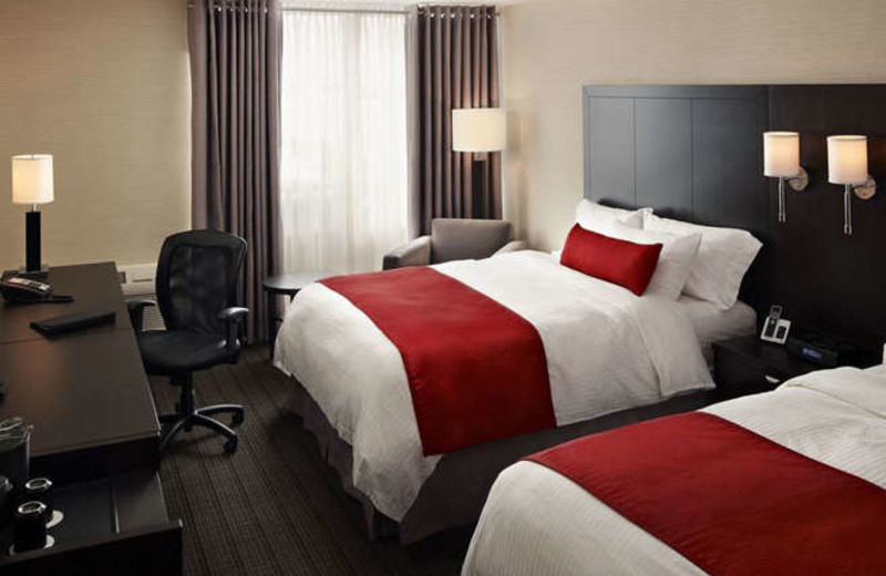 Guest Room at the Delta Sault Ste. Marie Waterfront Hotel
