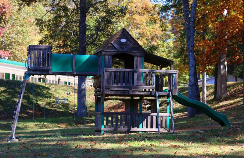 Playground at Lynnhurst Family Resort.