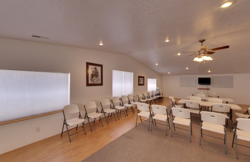 Meeting room at The Snuggle Inn.