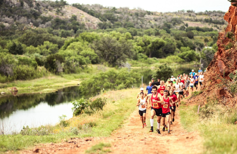 Marathon at Reveille Peak Ranch.