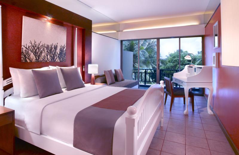 Guest room at Angsana Resort & Spa Bintan.