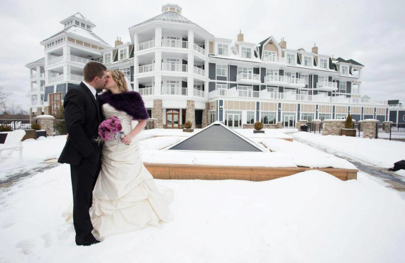 Wedding at JW Marriott The Rosseau Muskoka Resort