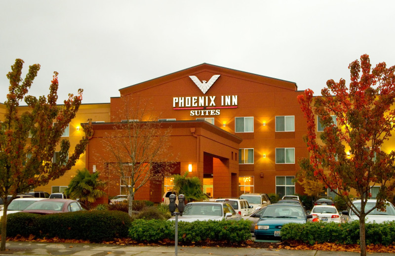 Exterior view at Phoenix Inn Suites Olympia.