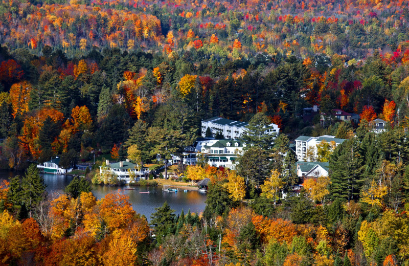 Fall at Mirror Lake Inn Resort & Spa.