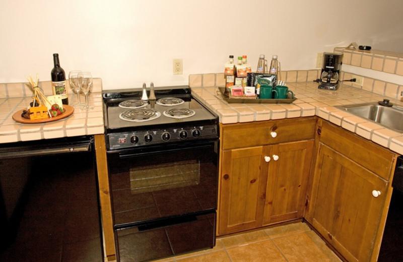 Guest kitchen at The Lodge at Ventana Canyon.