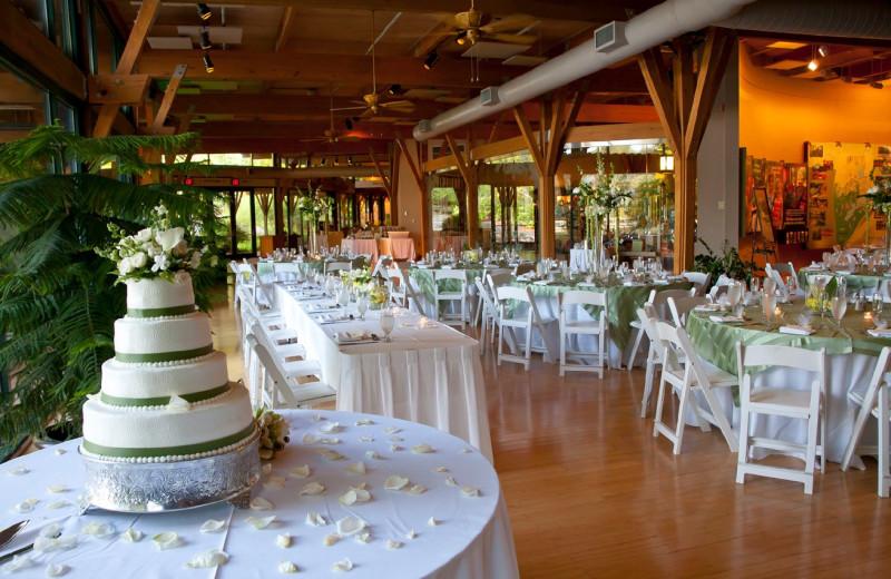 Wedding reception at Callaway Gardens.