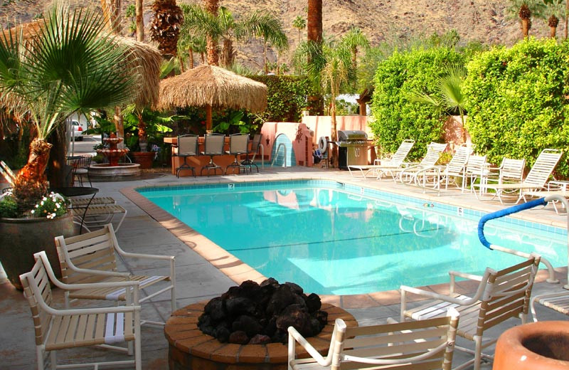 Outdoor pool at Coyote Inn.