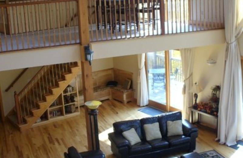 Living Room View at  Eagle Ridge Resort