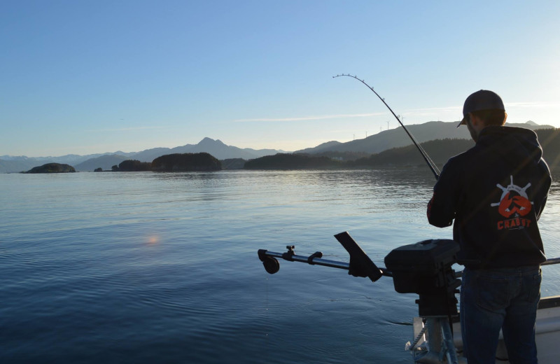 Fishing at Kodiak Charters.