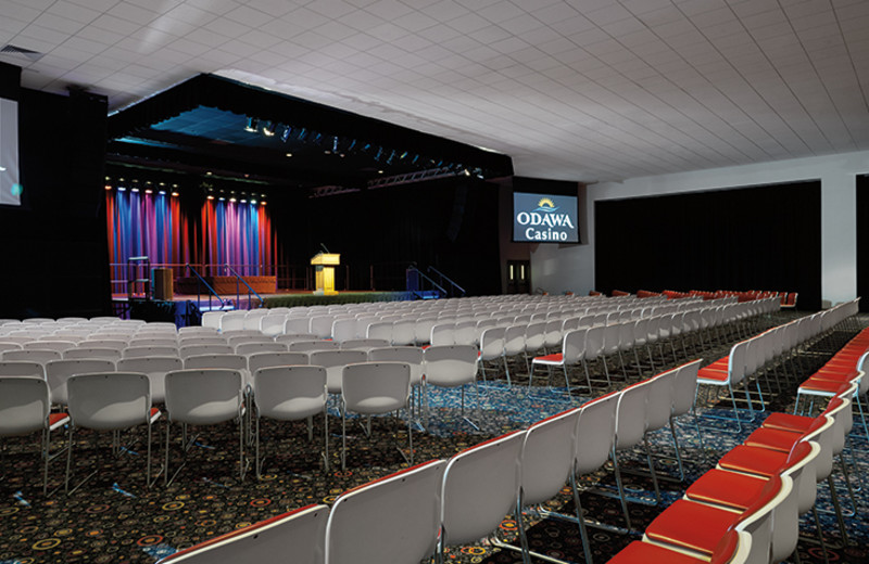 The Ovation Hall at the Odawa Casino Resort
