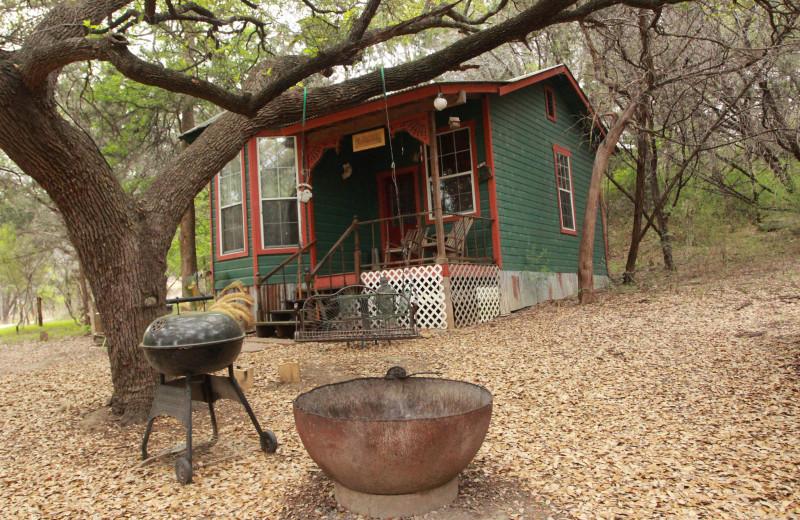 Cabin exterior at Creekside Camp & Cabins