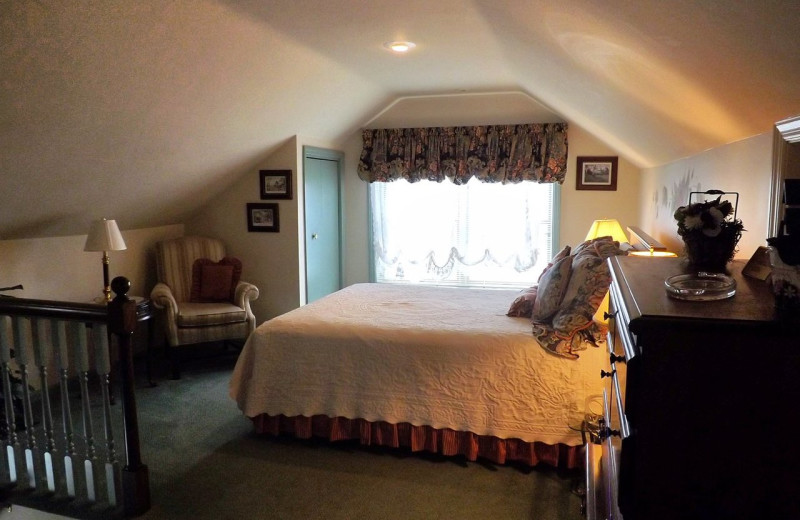 Guest room at West Ridge Guest House LLC.