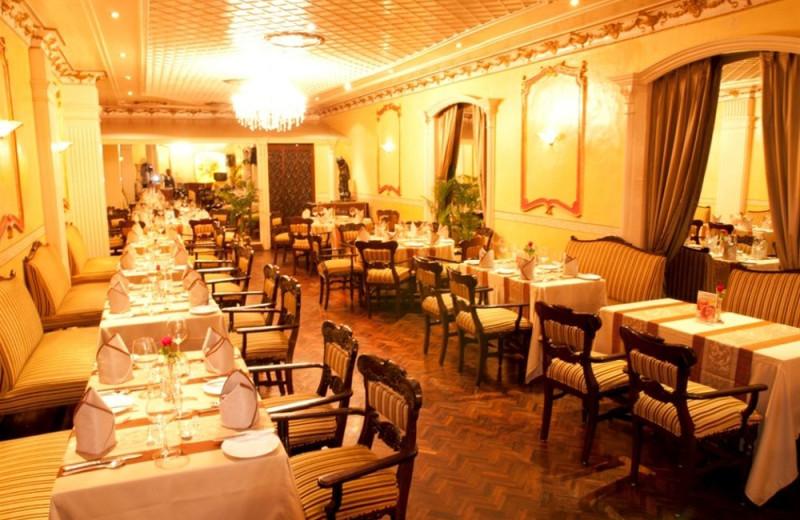 Dining at Ambassador.