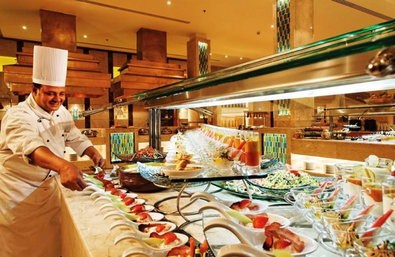Dining at Mövenpick El Gouna Resort.