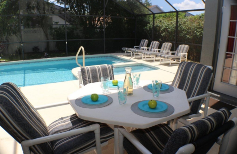Rental pool at Orlando Premier Vacation Villas