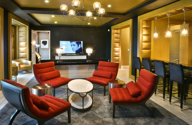 Lounge at Guest House at Graceland.