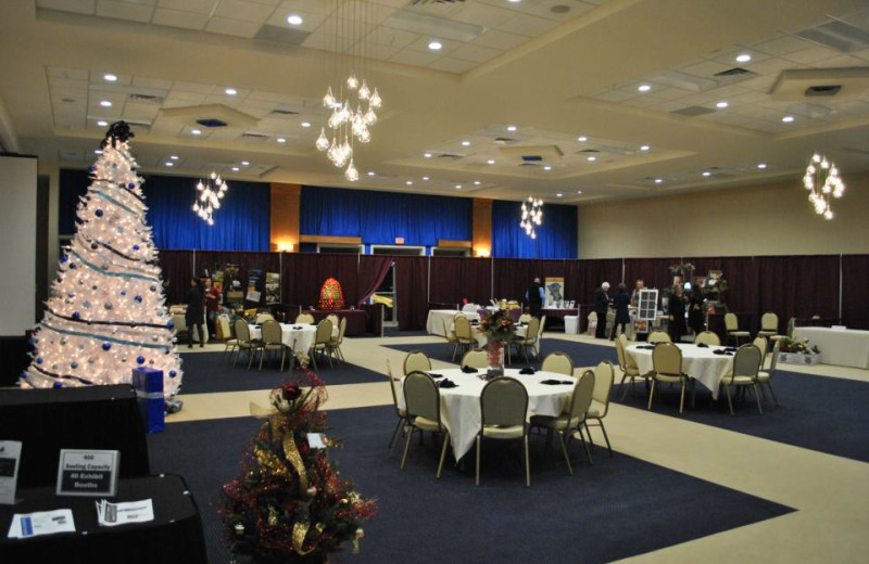 Event Center at Blue Water Lodge.