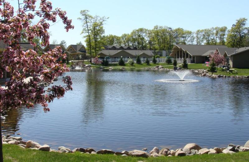 Pond at Kavanaugh's Sylvan Lake Resort