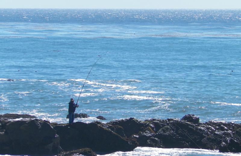 Fishing at Sea Otter Inn.