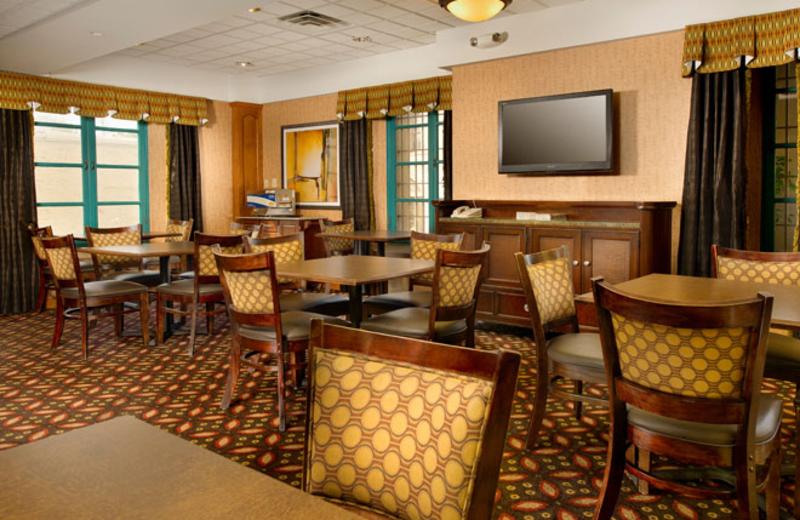 Dining at Holiday Inn Express San Antonio.