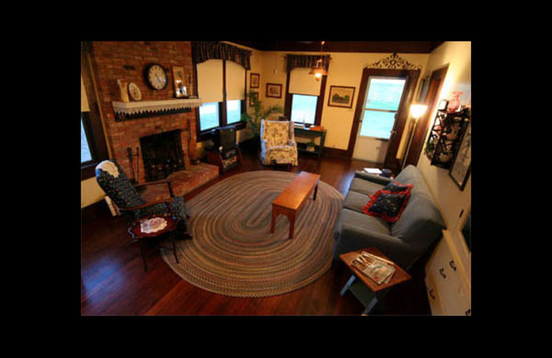 Living room at Ritchey Ranch.