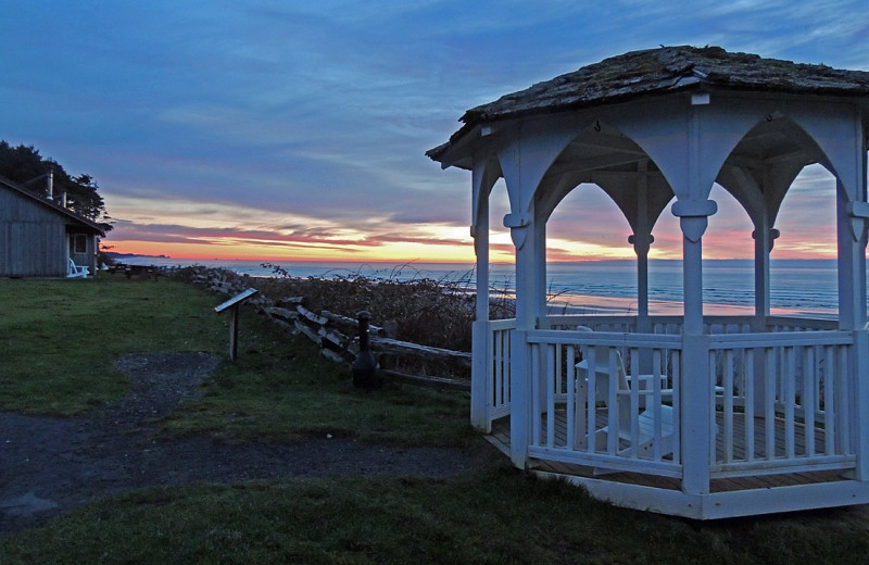 Scenic view at Kalaloch Lodge.