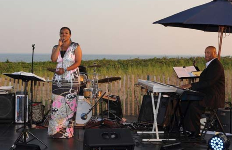 Live music on the beach at Madison Beach Hotel.