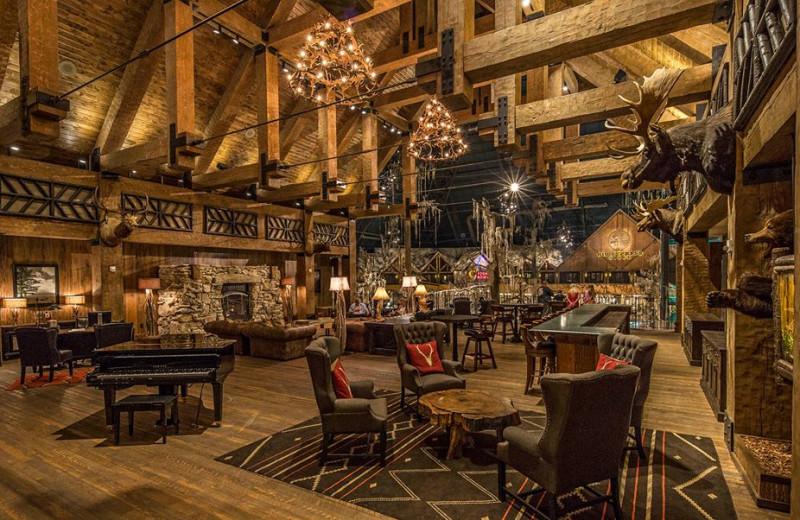 Lounge at Big Cypress Lodge.