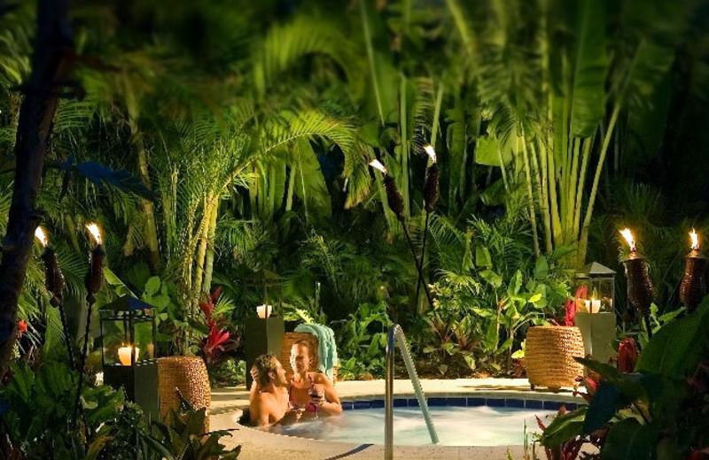 Hot tub at The Inn at Key West.