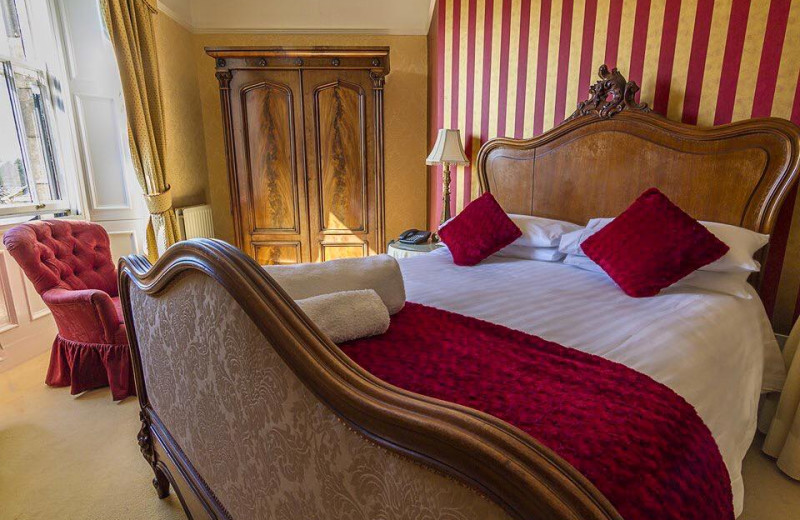 Guest room at Horton Grange Country House Hotel.