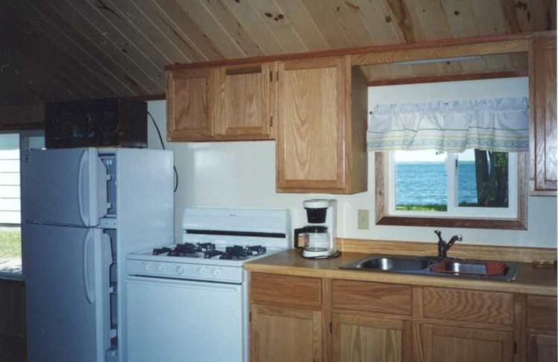 Cottage kitchen at Limmer's Resort.