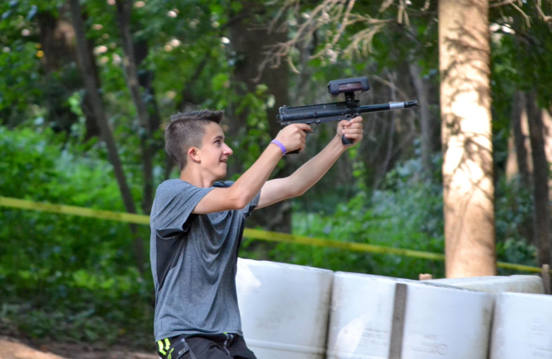 Laser tag at Yogi Bear's Jellystone Park Quarryville.