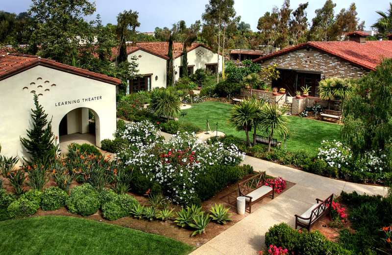 Exterior view of Estancia La Jolla Hotel & Spa.