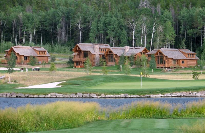 Cabins at Teton Springs Lodge.
