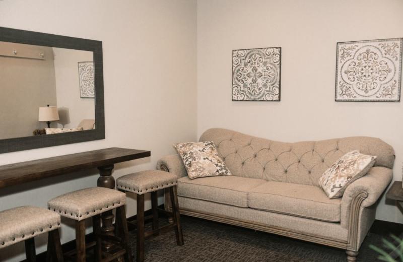 Bridal suite at Granite Springs Lodge.