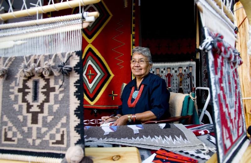 Indian market at The Lodge at Santa Fe.