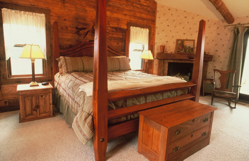 Guest room at Chanticleer Guest House.