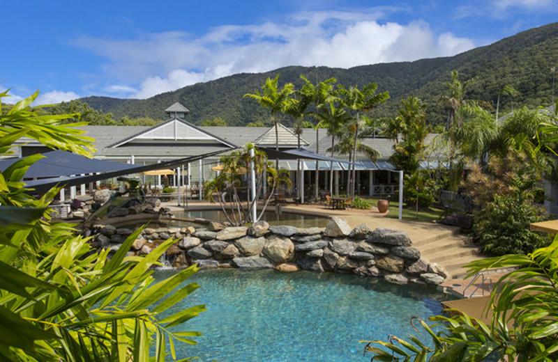 Exterior view of Novotel Palm Cove Resort.