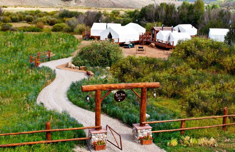 Spa at C Lazy U Ranch.