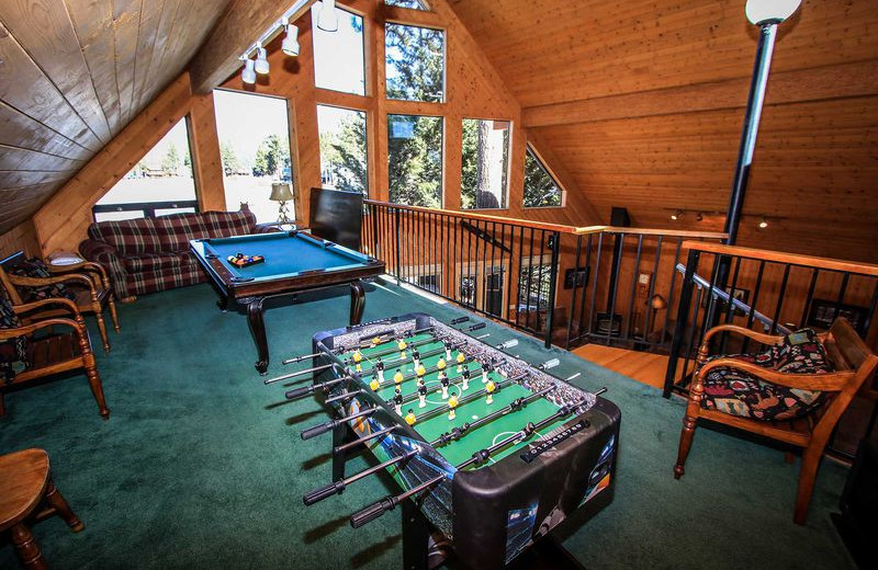 Rental loft at Big Bear Vacations.