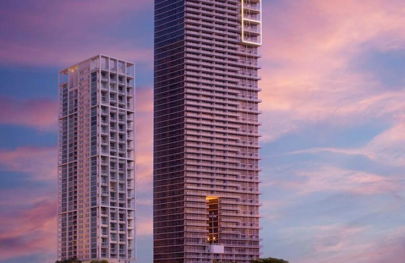 Exterior view of Casa Moderna Miami.